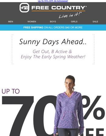 Activewear Flash Sale   Final Hours!
