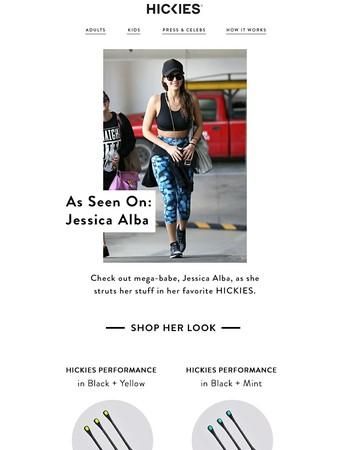As Seen On: Jessica Alba