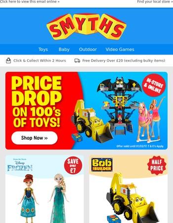 Price Drop on 100's of Toys Plus Pre-order Nintendo Switch Now!