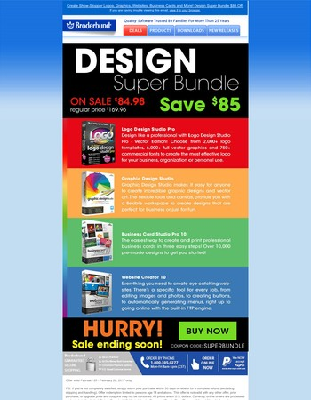 Be Your Creative Best! New Design Super Bundle $85 Off