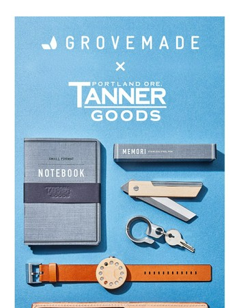 Grovemade X Tanner Goods EDC Giveaway - Last Call!