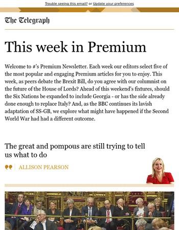 Your Premium Newsletter