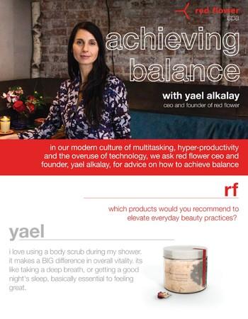 yael alkalay's 3 tips on how to achieve balance
