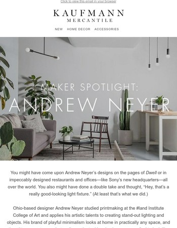 Introducing Andrew Meyer