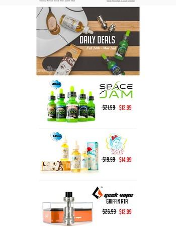 HuGe Savings!! Space Jam | Geekvape | Vapor Maid