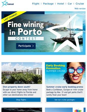 ☀ Win a trip to Porto! ☀