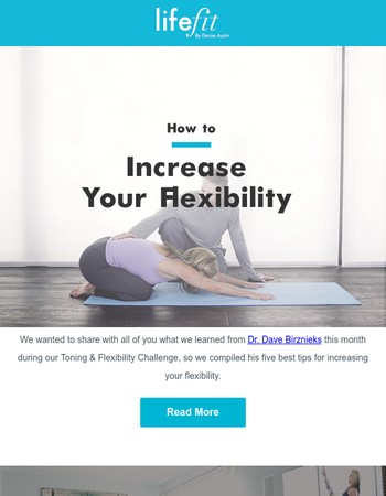 5 Ways to Increase Your Flexibility