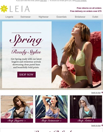 Spring Ready Styles...