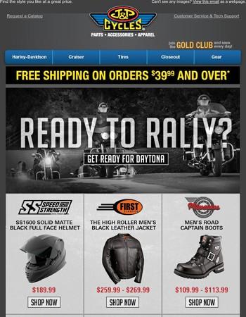 Get Ready for Daytona Bike Week!