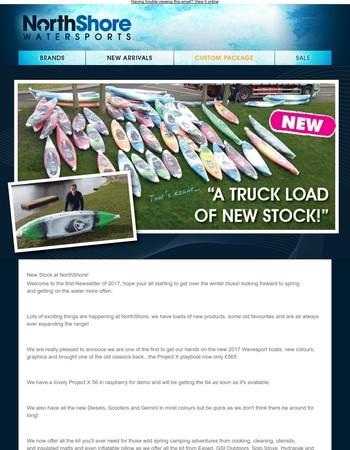 New Stock at NorthShore!