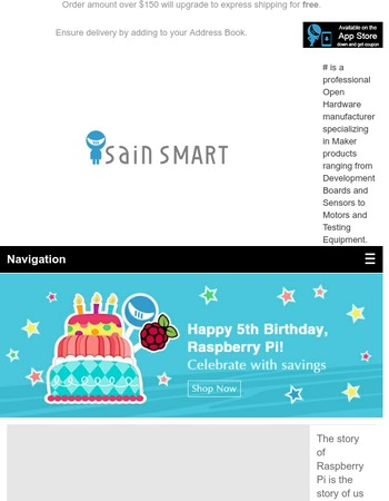 Happy Birthday Raspberry Pi! - Let's Celebrate and Save.