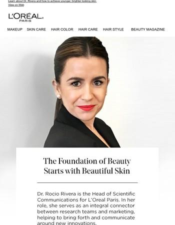 Meet the Expert behind L'Oreal Paris Skin Care