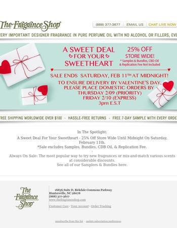 The Fragrance Shop Newsletter