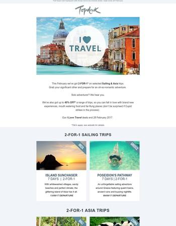 Topdeck Travel Newsletter