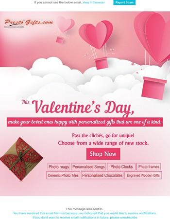 Valentine's Day wish from Presto!