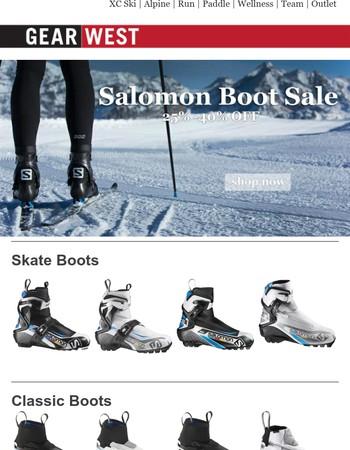 25-40% OFF Salomon Nordic Boots
