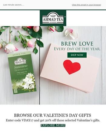 Last minute Valentines' treats