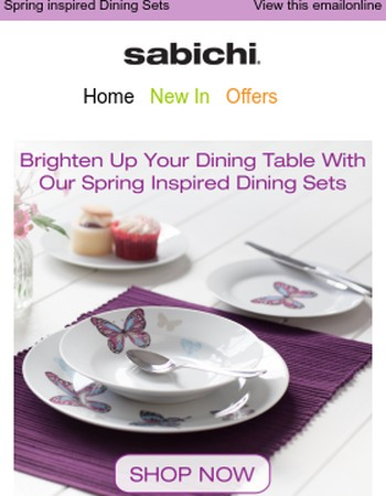 Banish Those Winter Blues & Brighten Up Your Dining