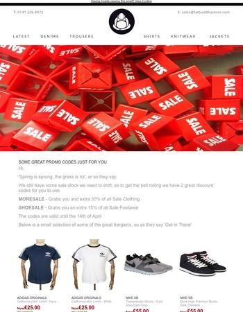 Exclusive Sale Promo Codes