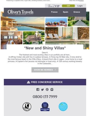New and Shiny Villas