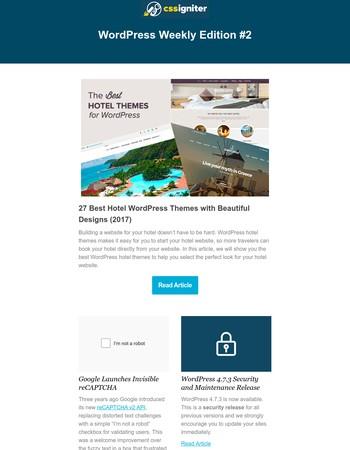 WordPress Weekly Edition #2
