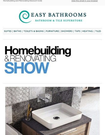 Homebuilding and Renovating show 23rd-26th March NEC