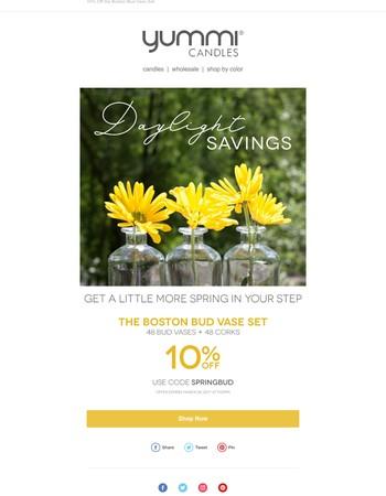 Get Some Savings for Daylight Savings☀