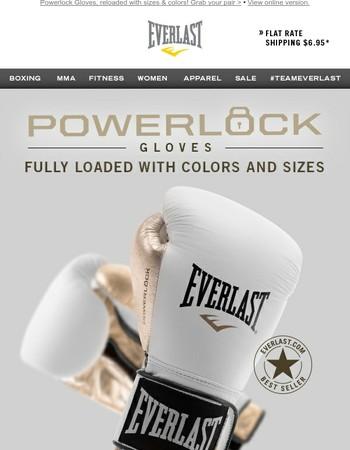 Best-Selling Powerlock Gloves are Back In Stock!