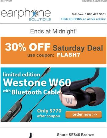 Limited Quantities - 30% off Westone Bluetooth Bundle