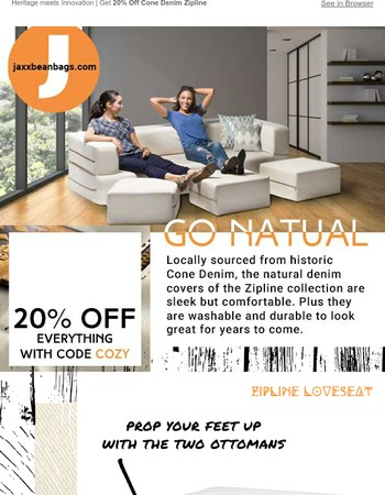 Make home feel amazing | 20% Off Everything
