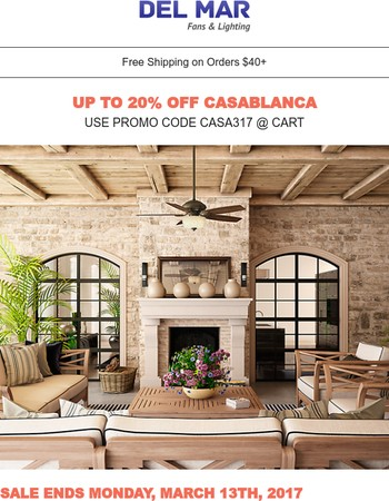 Your Casablanca Gift Code Is Inside For 20% Off