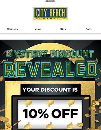Offer Extended: You've Scored 10% Off!