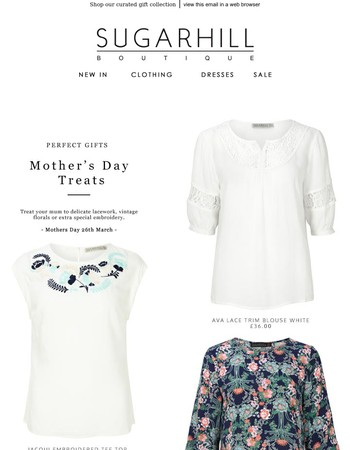 Perfect Gifts For Mother's Day