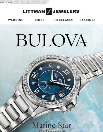 Spring Forward! Daylight Saving Reminder Presented by Bulova