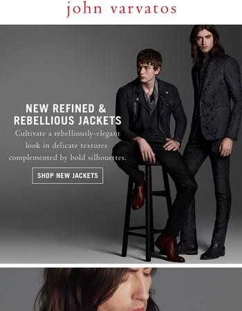 Rebel Elegance   New Collection Jackets