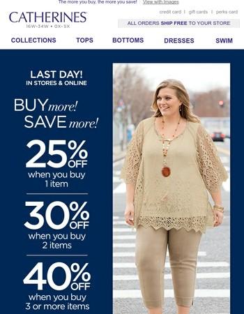 Save 40% Until Tonight!