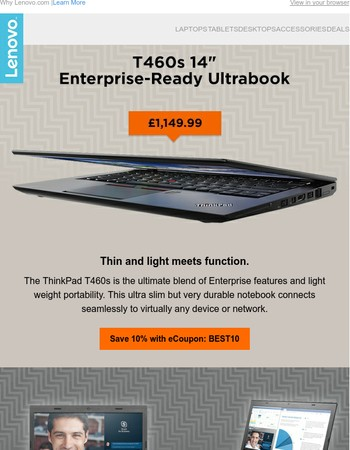 Have you Seen Our Lightweight and Thin Business Laptops?
