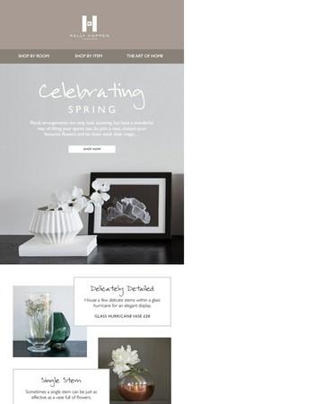 Celebrating Spring | Vases from £20