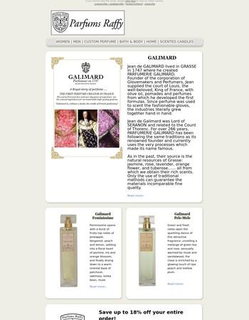 Parfums Raffy - New Galimard, Miriam Quevedo and Spring Sale is on!