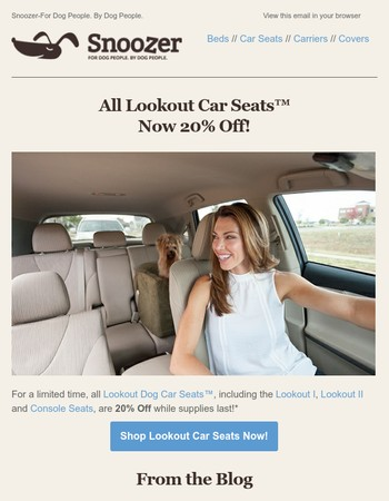 Lookout Car Seats Are On Sale!! Take Advantage of 20% Off!
