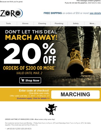 Reminder: Last Day to Save 20%!