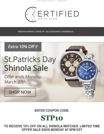 St.Patricks Day Sale! ☘️