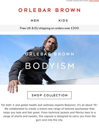 Orlebar Brown x Bodyism