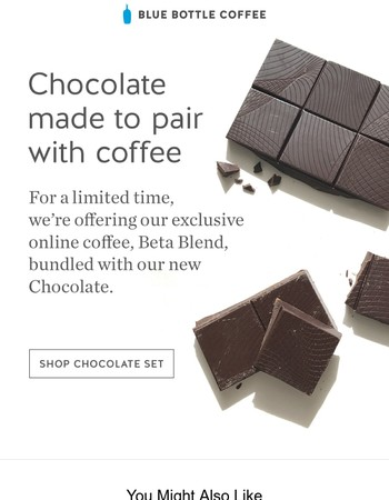 New Coffee & Chocolate Set