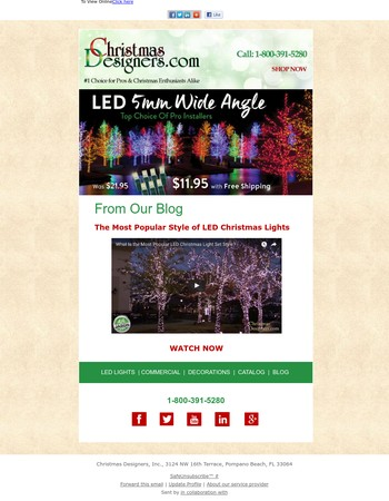 Professional Grade LEDs - 45% Off