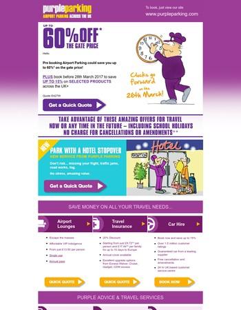 Purple Parking Ltd. Newsletter