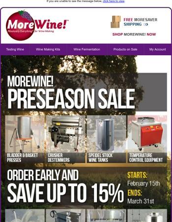 The 2017 Preseason Sale Ends Soon!