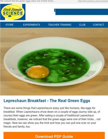 Experiment of the Week -  Leprechaun Breakfast