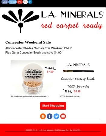 Concealer Weekend Only Sale