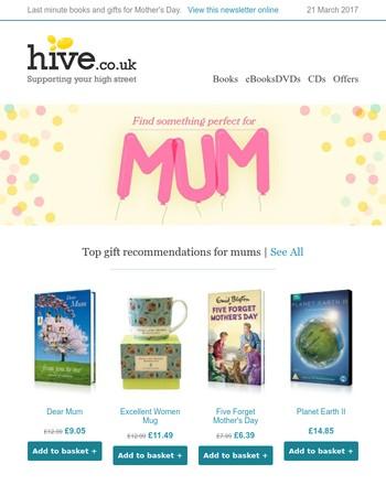 Last Minute Presents For Mum
